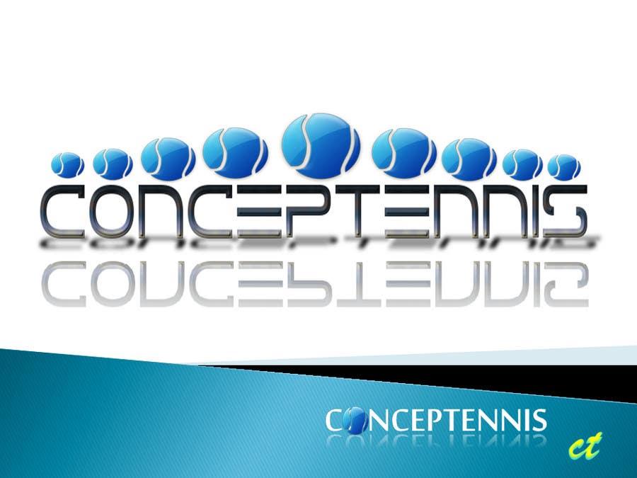 Kilpailutyö #436 kilpailussa Logo Design for ConcepTennis