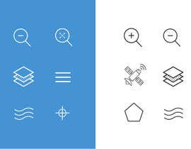 nº 2 pour Design some standard Icons for Apple App par Mayursinh007