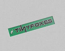 nº 73 pour Desing TinyFoxes Logo par hafiz62