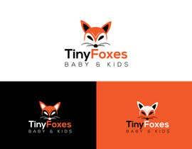 nº 77 pour Desing TinyFoxes Logo par graphicscince