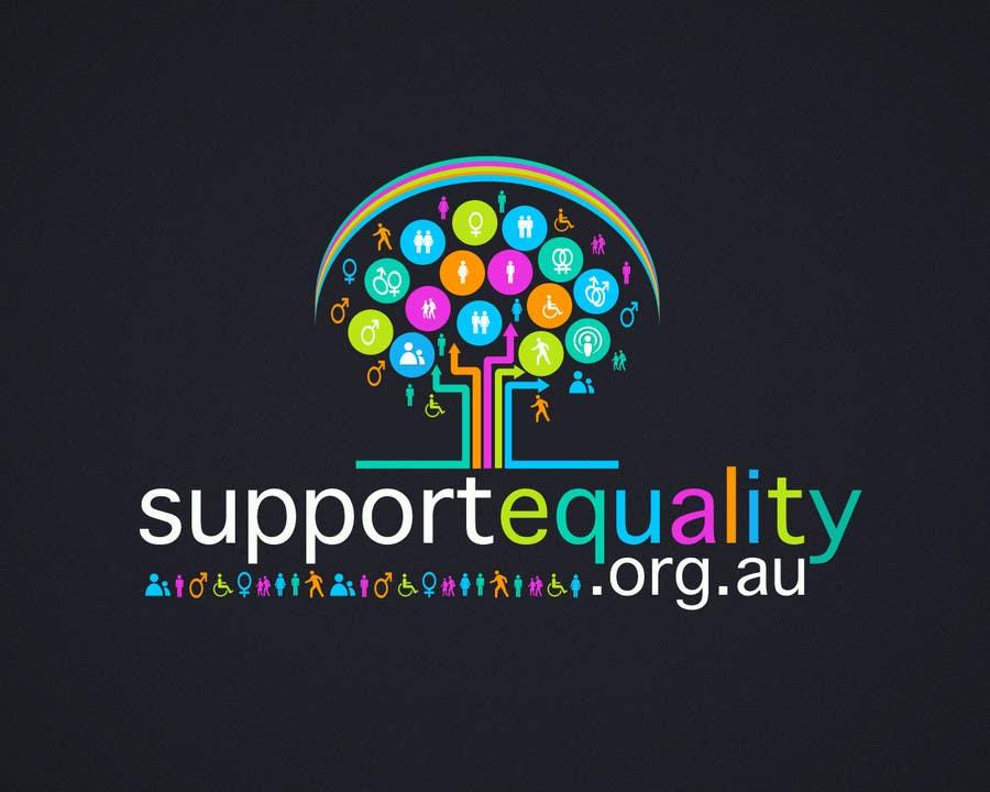 Конкурсная заявка №155 для Logo Design for Supportequality.org.au