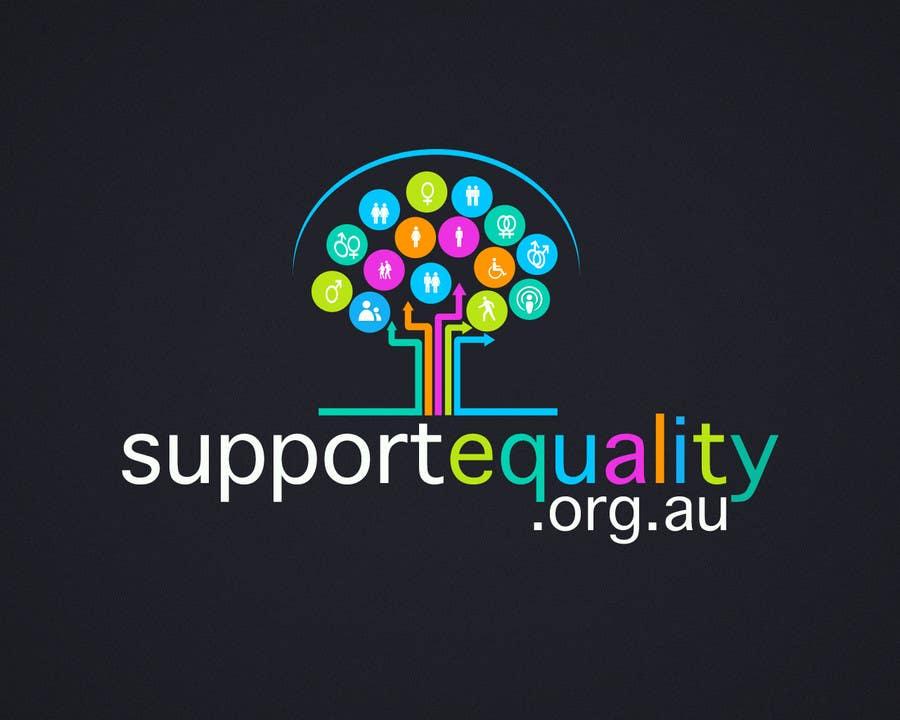 Конкурсная заявка №122 для Logo Design for Supportequality.org.au