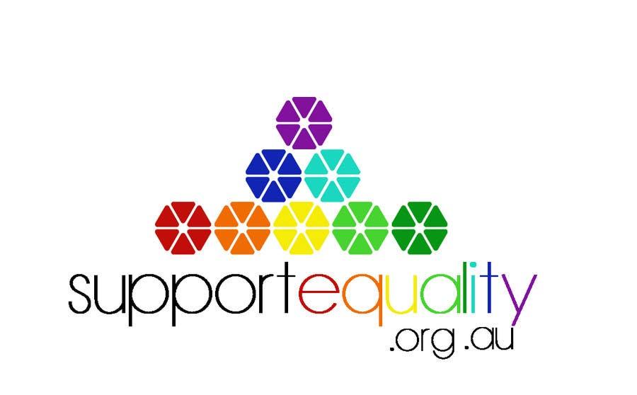 Конкурсная заявка №161 для Logo Design for Supportequality.org.au