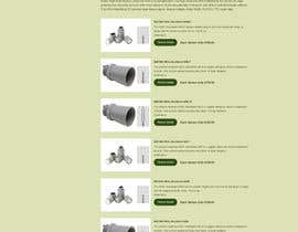 nº 6 pour Update Layout on Product's Page par gireeshvfx