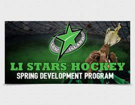 nº 120 pour Hockey team spring program advertizing Banner  8'X4' par TDuongVn