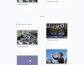 nº 11 pour Design a Website Mockup par sasiulian