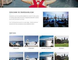 nº 5 pour Design a Website Mockup par webidea12