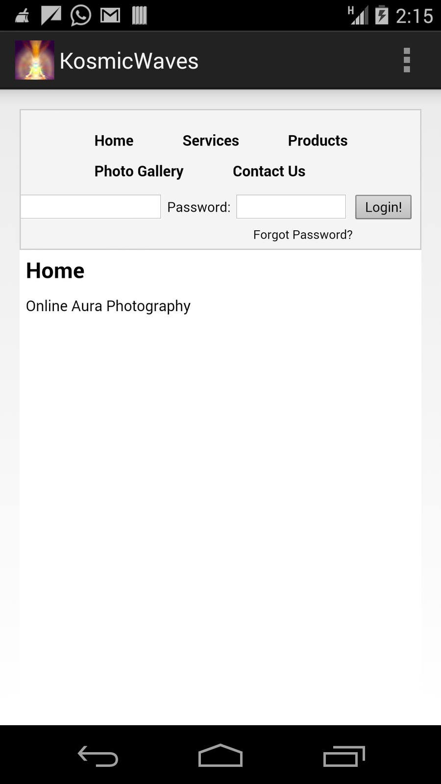 Entry #2 by BuddingDev for Write an Android application for