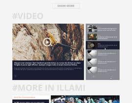 #35 for Create a WordPress Template by AyazAhemadKadri