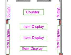 nº 4 pour To Make A store layout by Autocad par CarlosKain