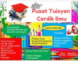 #7 for Design a Banner Pusat Tuisyen Cerdik Ilmu by edika13