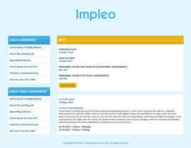 #44 para Website Design for Impleo - serviceagreements por tania06
