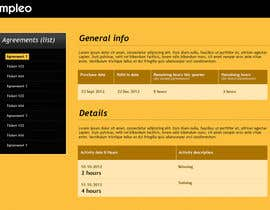 #49 untuk Website Design for Impleo - serviceagreements oleh stn50431