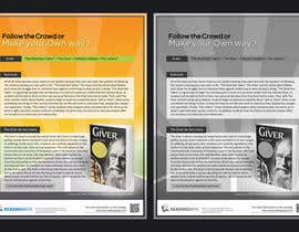 nº 9 pour Graphic education materials. Make READING come ALIVE par alMusawar