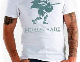 nº 51 pour Design Spartan Soldier - Molon Labe par SCategory