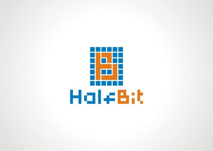 #572 for Logo Design for HalfBit by vidyag1985