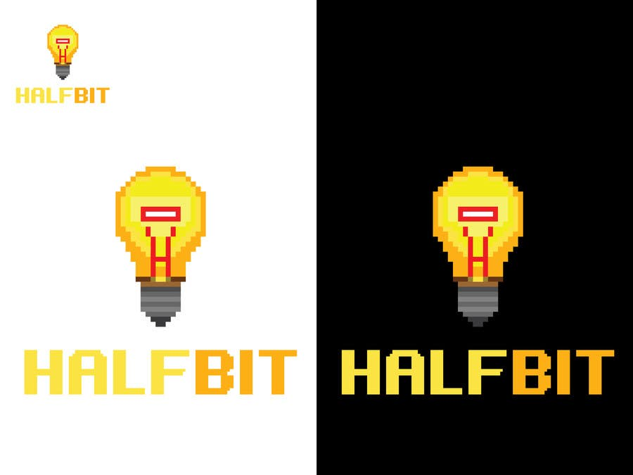 #533 for Logo Design for HalfBit by winarto2012