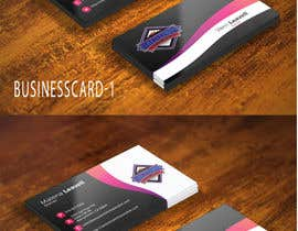 nº 7 pour Need Business Cards for Printing / Embroidery Company par amintushar12