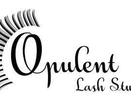nº 21 pour Opulent Lash Studio Logo par sakshikcreations