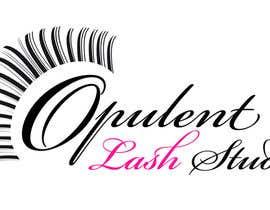 nº 66 pour Opulent Lash Studio Logo par sakshikcreations