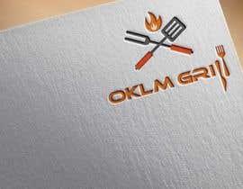 nº 71 pour Logo OKLM grill par ataurbabu18