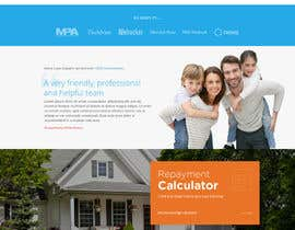 nº 6 pour Design a Website Mockup - HOMEPAGE ONLY - for a Mortgage Company par Stunja