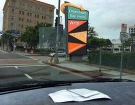 nº 3 pour I need a designer to Photoshop a large Cantilever sign into this intersection par sandboyjoe
