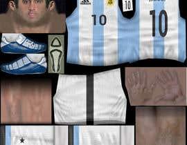 nº 12 pour Create 32 texture files for football kits (PNG) par JulioEdi