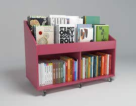 nº 7 pour Do photo realistic render of book display par Mtien