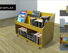 nº 22 pour Do photo realistic render of book display par visibilizar