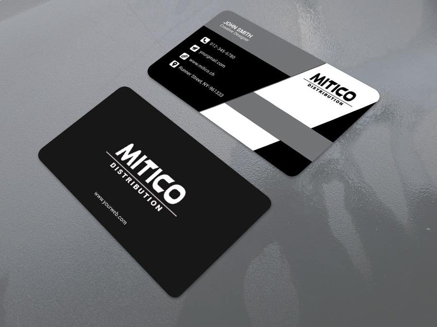 Proposition n°8 du concours Design some Business Cards for Mitico