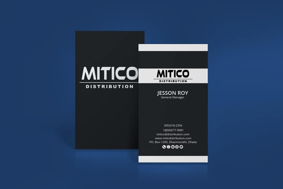 Proposition n°30 du concours Design some Business Cards for Mitico