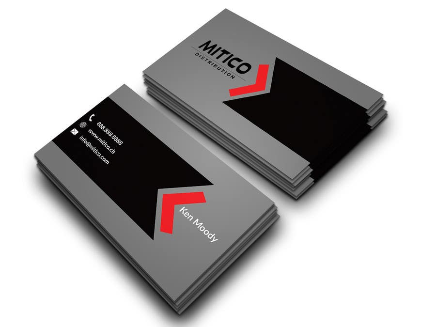 Proposition n°88 du concours Design some Business Cards for Mitico