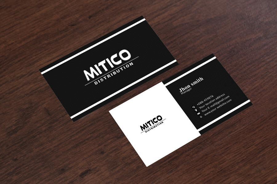 Proposition n°33 du concours Design some Business Cards for Mitico