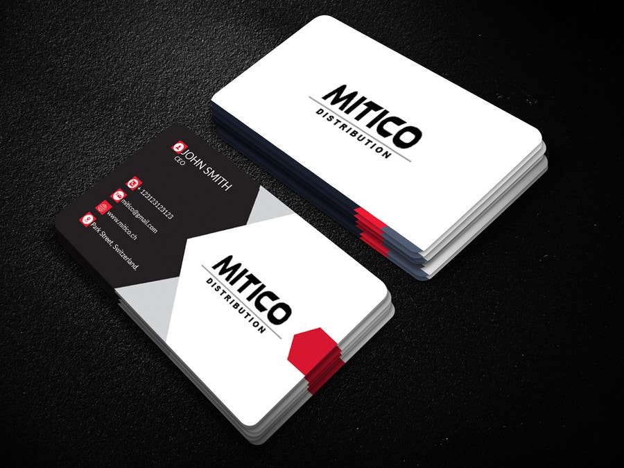 Proposition n°128 du concours Design some Business Cards for Mitico