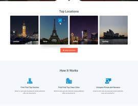nº 18 pour Homepage Design for a Medical Hub par syrwebdevelopmen