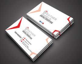 nº 210 pour Design some Business Cards for roofing company - DCM05172017 par RohanPro