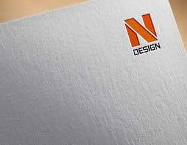 nº 80 pour Logo for NDESIGN par daudhusainsami
