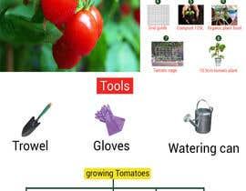 nº 6 pour Vegetable Growing  How to Guide card & calender par ruman254