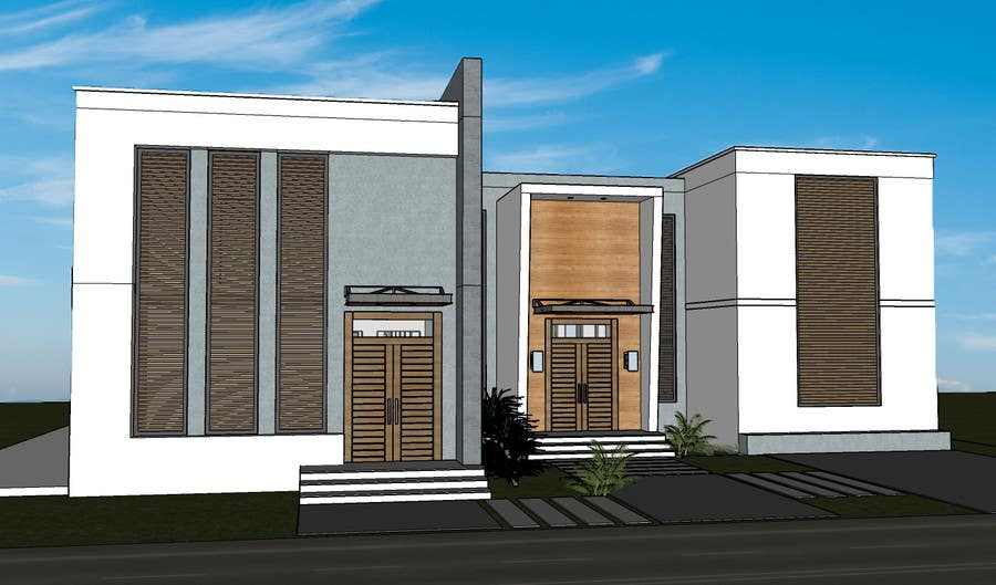 Proposition n°8 du concours Design and modification of the scheme Villa ( New Idea )
