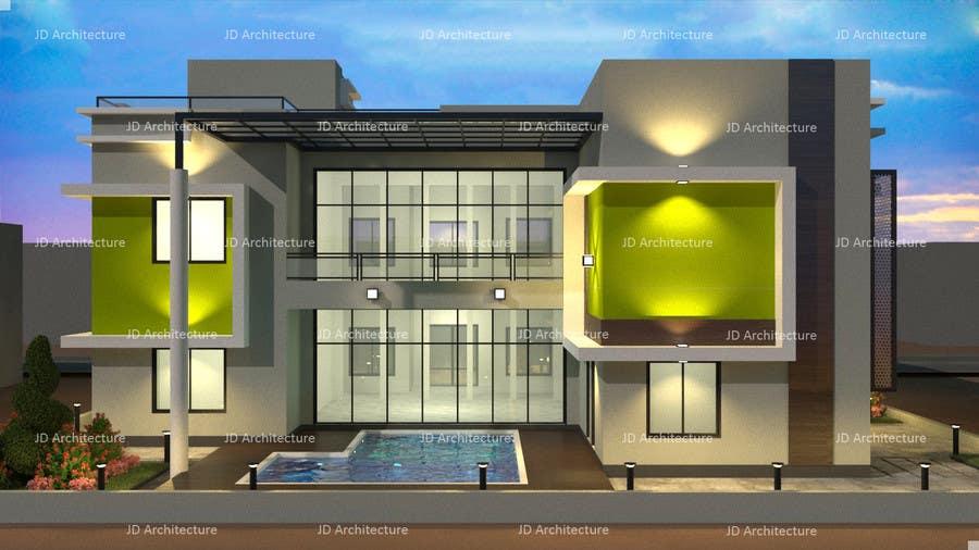 Proposition n°21 du concours Design and modification of the scheme Villa ( New Idea )