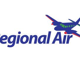 #23 for Regional Air Logo with plane by moilyp