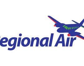 nº 23 pour Regional Air Logo with plane par moilyp