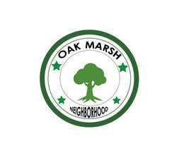 nº 103 pour Oak Marsh Neighborhood Logo par RoberFlores