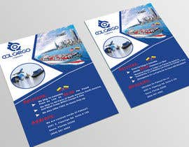 nº 11 pour Design the BEST Flyer for a Cargo/Shipping Company par Forhad95s