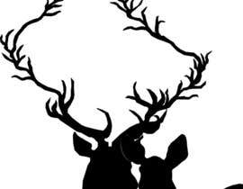 nº 7 pour Illustrate deer silhouette par larrythelants