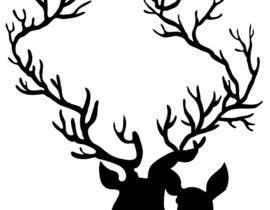 nº 17 pour Illustrate deer silhouette par gabytabitha
