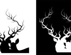 nº 16 pour Illustrate deer silhouette par the12