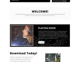 nº 16 pour Design a Website Bootstrap Template for radio station par saidesigner87