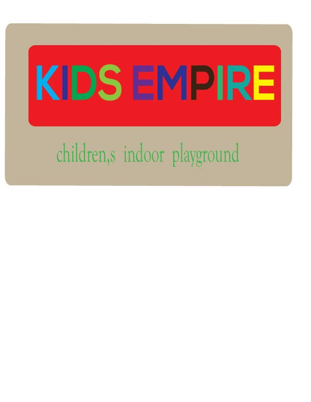 Contest Entry 7 For Kids Indoor Playground Party Place Logo Design